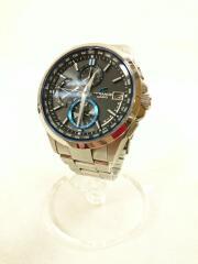 001A103H/ソーラー腕時計・OCEANUS/アナログ/シルバー×ネイビー