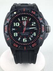 ナイトビューシリーズ セントリー/腕時計/アナログ/ラバー/黒/0215 SL/箱、ギャラ付属