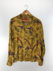 16AW Birds Of Paradise Rayon Shirt/M/レーヨン長袖シャツ