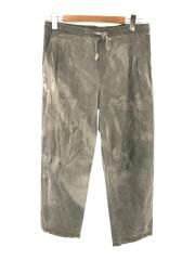 K DYED VINTAGE BED SHEET DRAW STRING PANTS/B SI 10/0213100