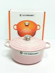 LE CREUSET ココット・ロンド 鋳物ホーロー鍋 20cm