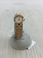クォーツ腕時計/アナログ/ステンレス/GLD