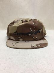 20AW/Futura Logo 5-Panel Chocolate Chip Camo/キャップ/ポリエステル