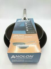 ANOLON/フライパン/2点セット/BLK