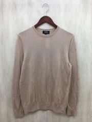 セーター(薄手)/M/ウール/BEG/アーペーセー