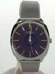 クォーツ腕時計/アナログ/ステンレス/BLU/GRY/E031-S070481