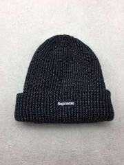 17AW/Reflective Loose Gauge Beanie/FREE/アクリル/BLK
