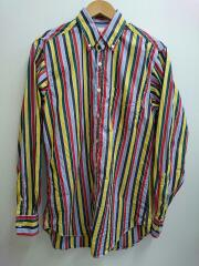 APPLETREES/20SS/CASUAL SHIRT/M/コットン/ストライプ/436-0210054