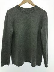 セーター/S/カシミア100%/GRY/グレー/クルーネック