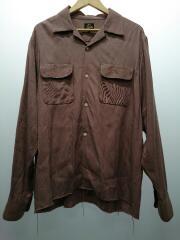 20AW/C.O.B.Classic Shirt/長袖シャツ/L/レーヨン/ピンク/HM204
