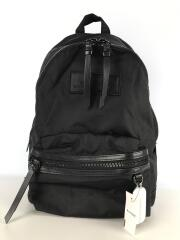 The DTM Large Backpack/リュック/ナイロン/BLK/無地
