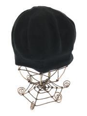19model/ベレー帽/帽子/コットン/BLK