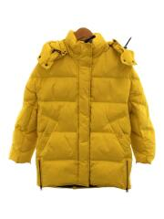 Aurora Puffy Coat/WWCPS2599/ダウンジャケット/S/ナイロン/YLW