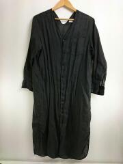 ラミーベルテッドシャツワンピース/36/GRY/12-06-82-06405/付属品有
