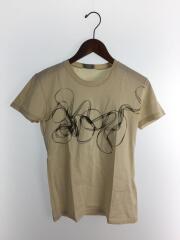2010年モデル/クリスヴァンアシュ/Tシャツ/XS/コットン/BEG/プリント/0E3368670107