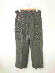 Side Tab Trouser/スラックスパンツ/XS/ポリエステル/GRY/ストライプ/HM096