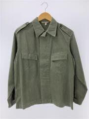 東ドイツ軍/ミリタリージャケット/44/コットン/カーキ/無地