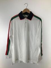 ポロシャツ/--/コットン/WHT