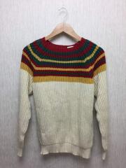 セーター/48/コットン/BEG/ベージュ/1113-399-2449