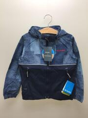 ウインドジャケット/XS/ポリエステル/NVY/PY3007-426