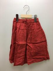 スカート/S/リネン/RED/無地/AL911503