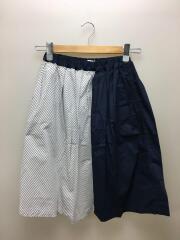 スカート/150cm/コットン/NVY/ストライプ/AL911502-1