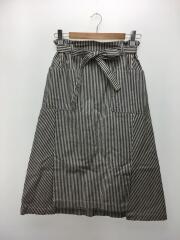 ヒッコリースカート/0/コットン/WHT/ストライプ/GK810971-171011