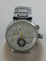 クォーツ腕時計/Q132C/タンブールラブリーカップクロノ/アナログ/ステンレス/LV/セカスト