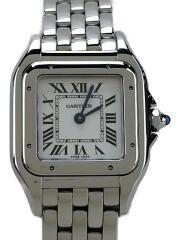 パンテール ドゥ カルティエ/CRWSPN0006/クォーツ腕時計/アナログ/SLV/箱有/セカスト