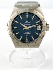 自動巻腕時計/--/--/SLV////CONSTELLATION CO-AXIAL/コンステレーション コーアクシャル/バックスケルトン/87467612