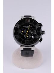 Q102U/タンブールインブラック/クロノグラフ/腕時計/アナログ/TE1188/箱有