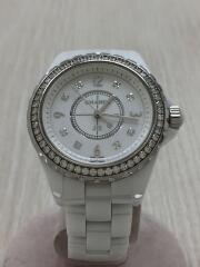 J12/ダイヤベゼル/8Pダイヤインデックス/クォーツ腕時計/アナログ/セラミック/J12 H3110
