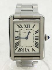 クォーツ腕時計/アナログ/ステンレス/WHT/W5200013