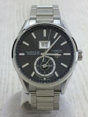 自動巻腕時計/タグホイヤー/WAR5012/カレラ/グランドデイト/GMT/キャリパー8/carrera カレラ  バックスケルトン