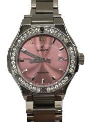 腕時計/クラシック・フュージョン チタニウム ピンクブレスレット/自動巻/ケース有/セカスト