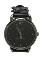 クォーツ腕時計/アナログ/デランシー/14502745/レザー
