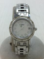 Clipper Nacre/◆クリッパーナクレ/ダイヤモンドベゼル/箱/クォーツ腕時計/