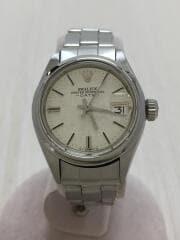 腕時計/アナログ/ステンレス/SLV/SLV/OYSTER PERPETUAL DATE/6916/自動巻腕時計   オイスターパーペチュアルデイト