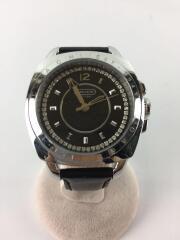 腕時計/アナログ/レザー/BLK/BLK/CA43.7.14.0629