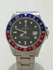 GMTマスター2・SS・40 mm/アナログ/ステンレス/BLK/SLV/2020/01/ROH済/自動巻腕時計  GMT-MASTERⅡ