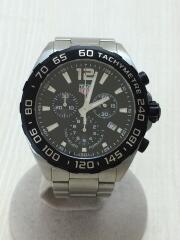 クォーツ腕時計・フォーミュラ1クロノグラフ43MM/アナログ/ステンレス/BLK/FORMULA1  タキメーター
