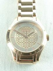 クォーツ腕時計/アナログ/ステンレス/BEG/BEG/W6007