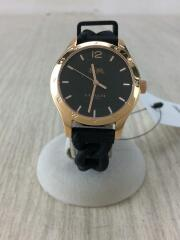 クォーツ腕時計/ミニシグネチャー/CA.79.7.95.1212/アナログ/ラバー/ブラック