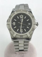クォーツ腕時計/アナログ/ブラック/シルバー/ダイバーズ PROFESSIONAL プロフェッショナル  WN1110 AY5282