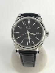 OMEGA オメガ/自動腕時計/アナログ/ナイロン/BLK/BLK