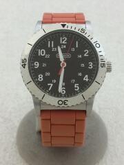 クォーツ腕時計/アナログ/ラバー/ブラック/アラビアインデックス/CA.80.2.14.0712