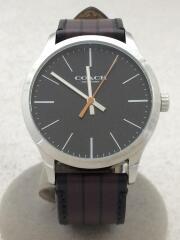 腕時計/アナログ/レザー/ブラック/CA.118.2.112.1537