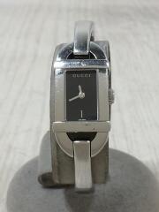 6800L/腕時計/アナログ/ステンレス/BLK/SLV/レディース