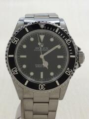 サブマリーナ ノンデイト・SS・40mm/アナログ/ステンレス/BLK/SLV/14060/A番/自動巻腕時計 ダイバーズ SUBMARINER