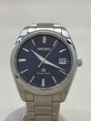 クォーツ腕時計/アナログ/ステンレス/NVY/SLV/SBGX065 9F62-0AB0/箱/コマ付